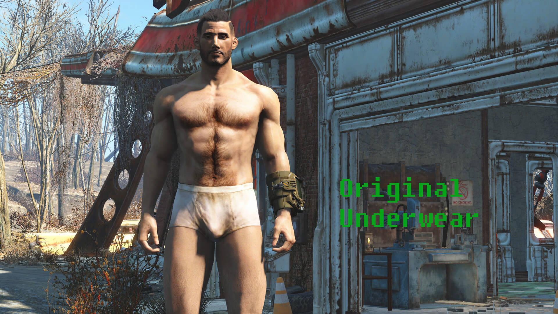 Fallout 4 male nude mod