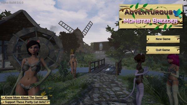 Monster girl dating simulators free