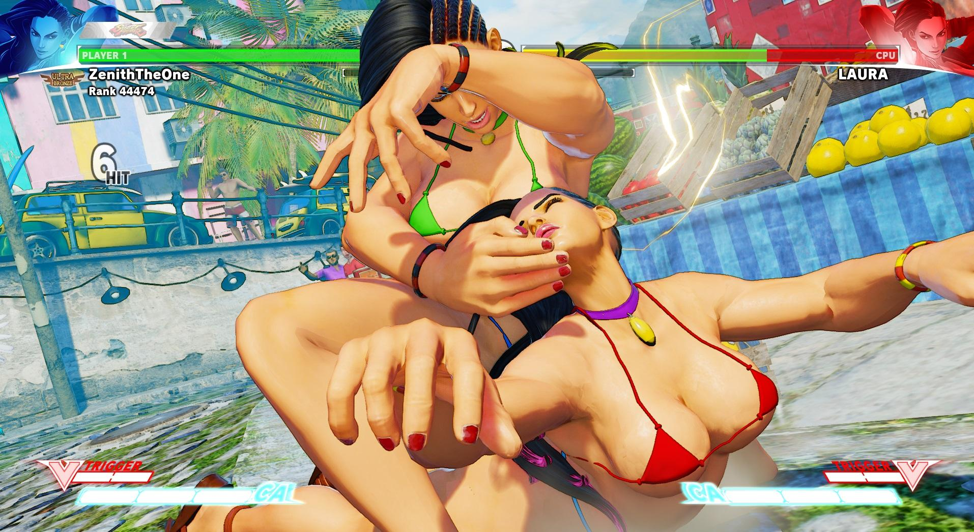 Street Fighter Laura Naked