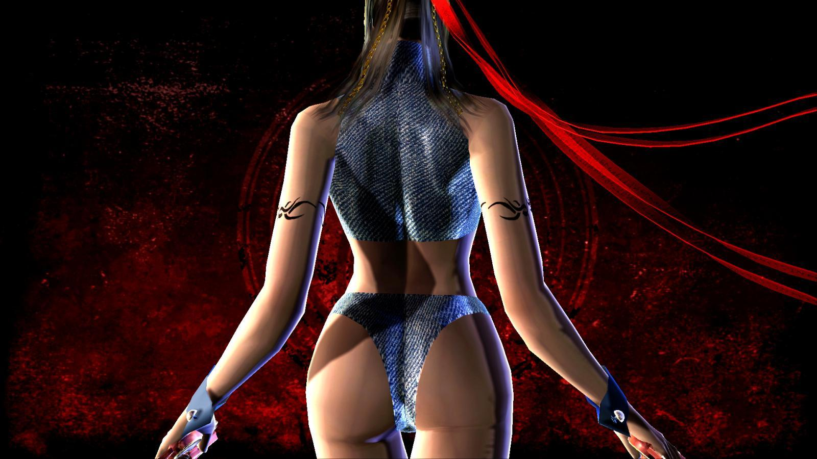 The Bayonetta Nude Mod Is Here  Lewdgamer-3162