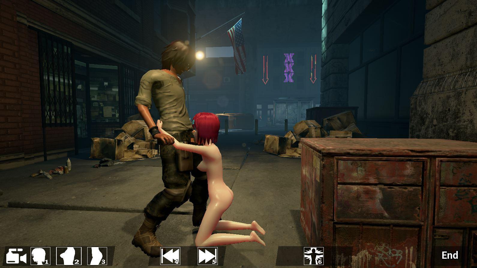 Hentai game rape