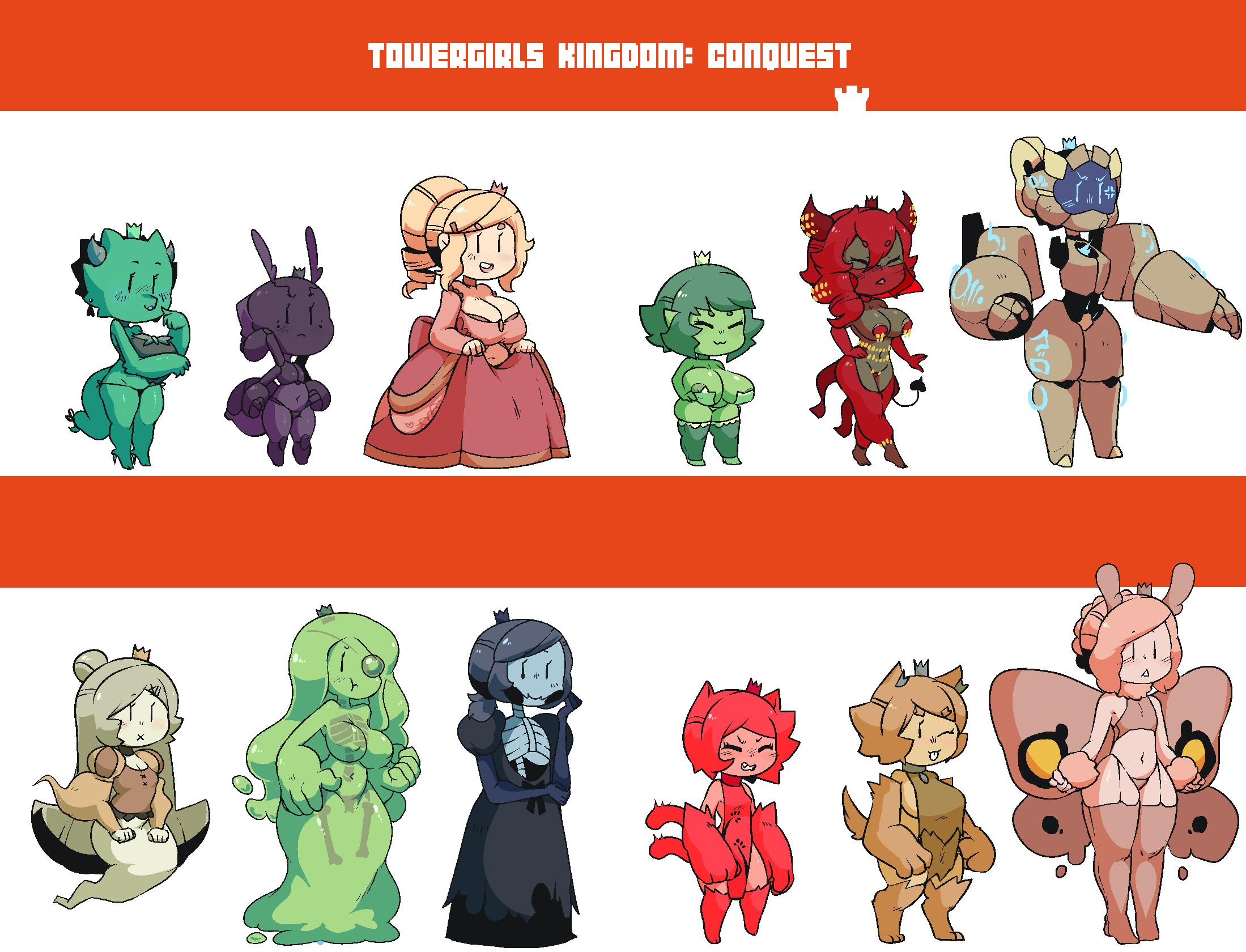 Towergirls kingdom conquest