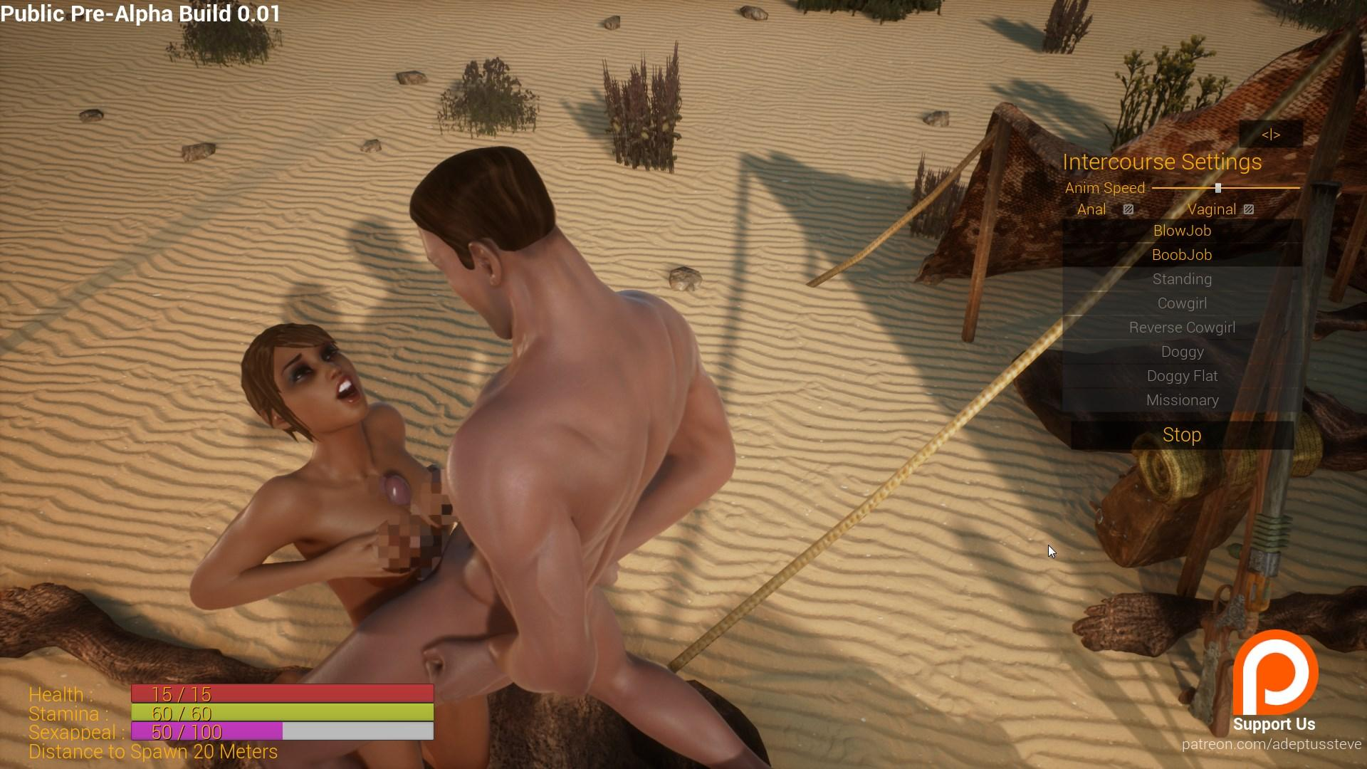 3D Adult Action Rpg Wild Life Gets First Public Demo -9946