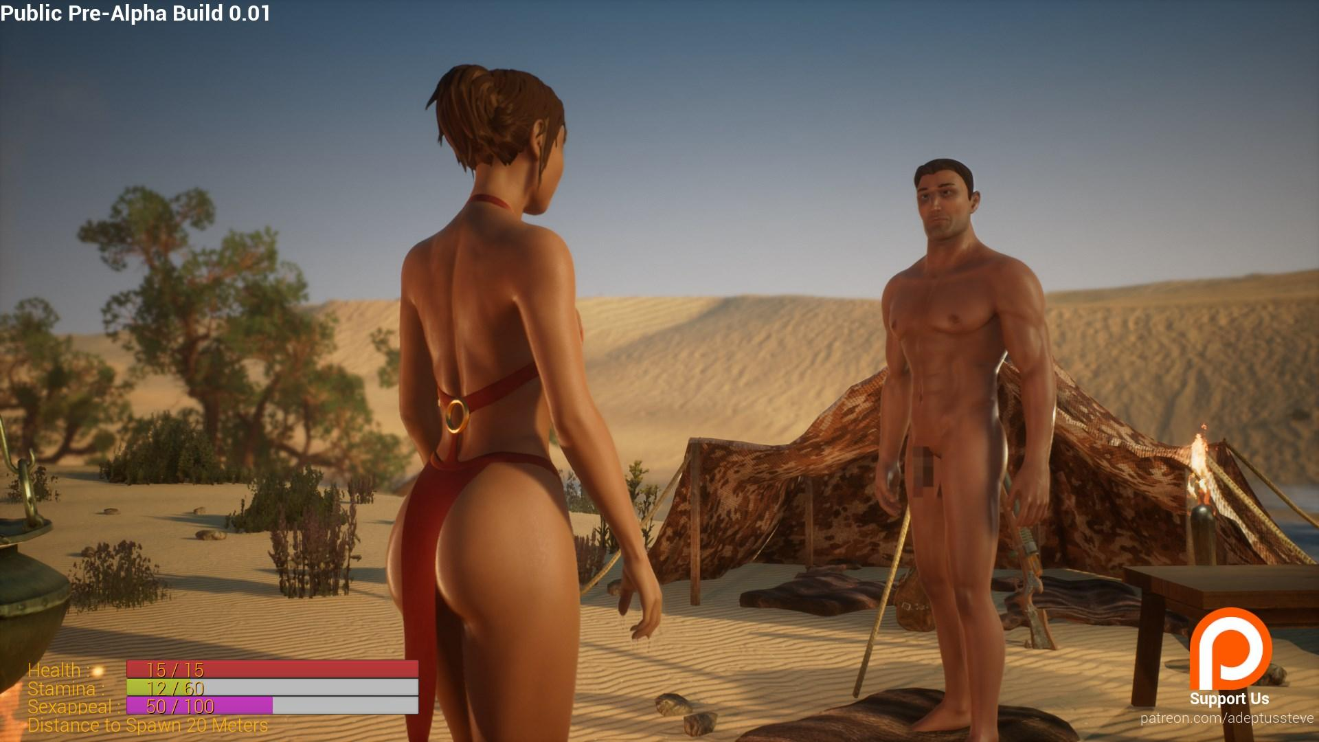 3D Adult Action Rpg Wild Life Gets First Public Demo -1214
