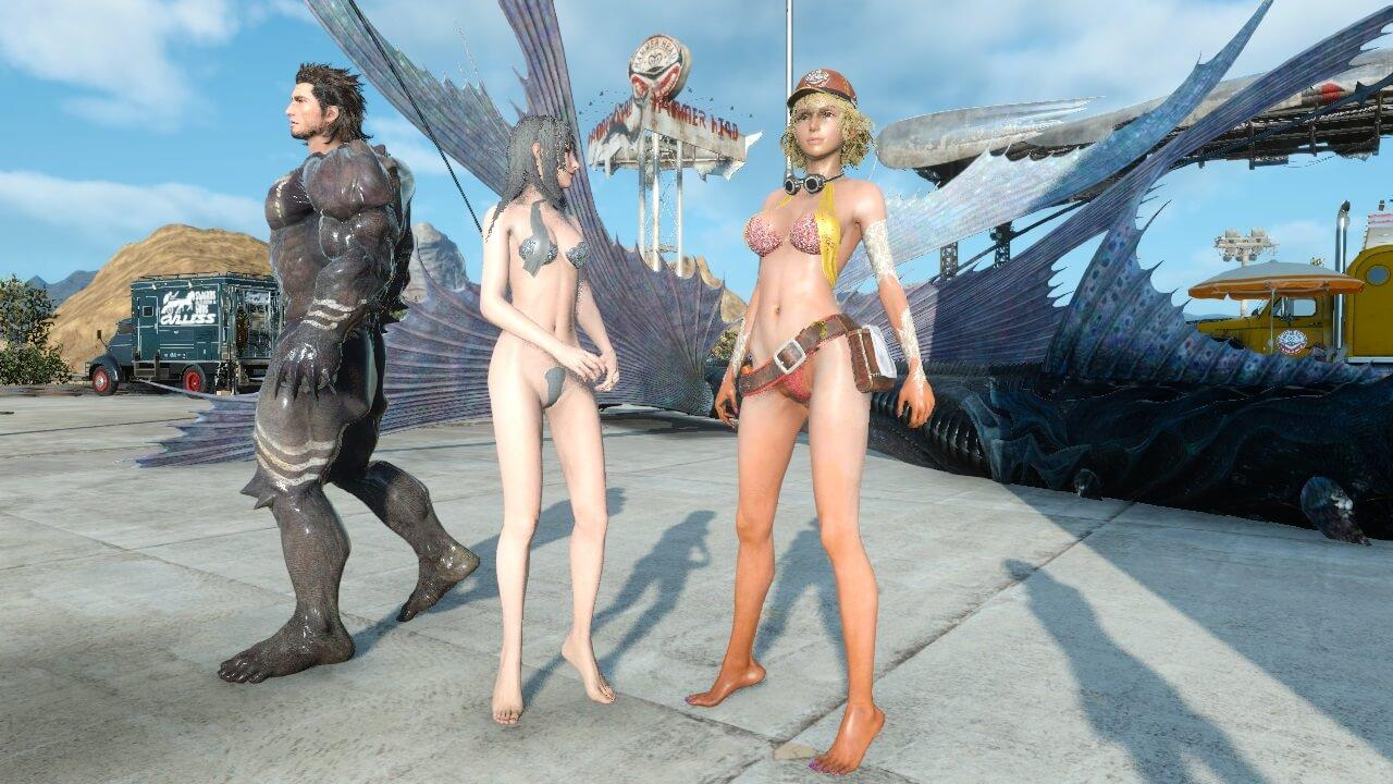 Opinion you Nude final fantasy chicks your phrase