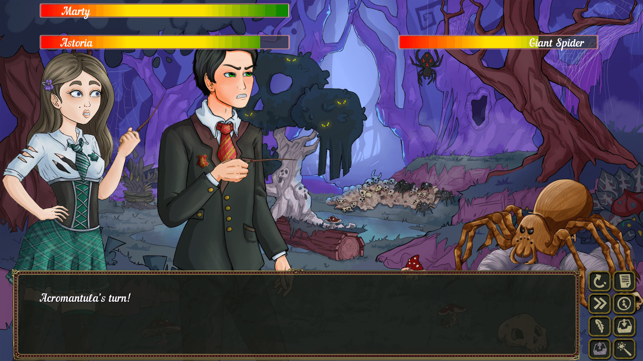 Wands and Witches, a Harry Potter Fan Game, Is Free-to