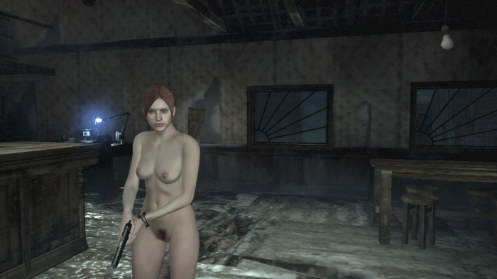 nude as resident evil Claire