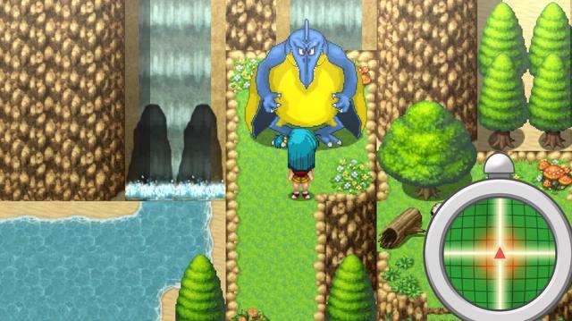 Bulma adventure, the kame island